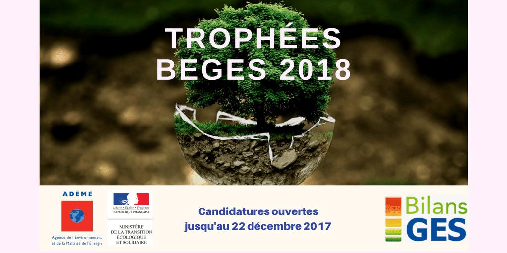 Association Bilan Carbone - 1ère édition des «Trophées BEGES»